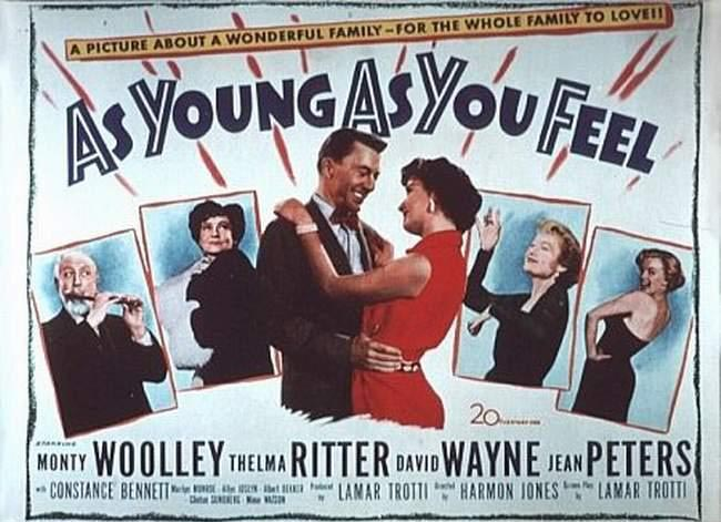 AS YOUNG AS YOU FEEL (1951) CursumPerficio 650x471 Movie-index.com