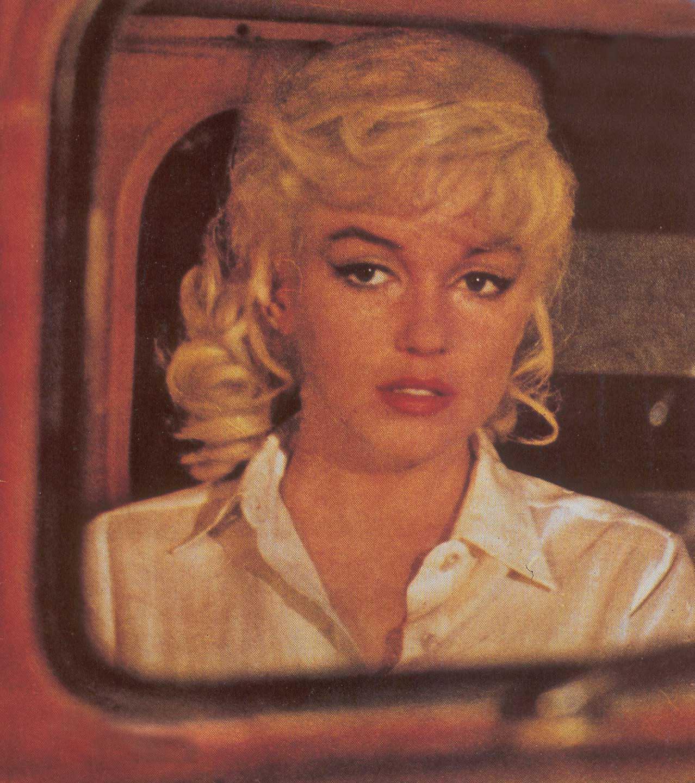 Marilyn monroe misfits photos