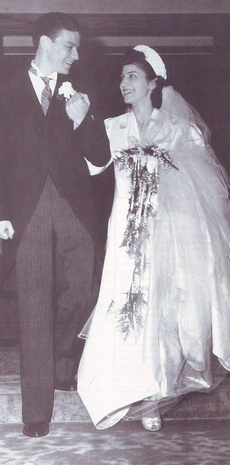 February 4 1939 wedding with nancy barbato in jersey city
